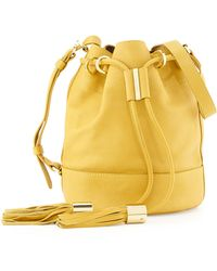 See By Chloé Vicki Small Bucket Bag Bamboo - Lyst