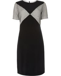 Paul Smith Black Label Tunis Dress with Detail - Lyst