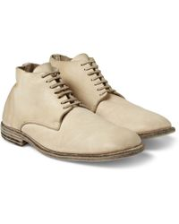 Guidi Leather Laceup Boots - Lyst