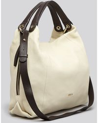 Furla Hobo Elisabeth Zip Medium Colorblock - Lyst