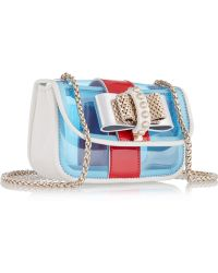 Christian Louboutin Sweet Charity Mini Pvc and Leather Shoulder Bag - Lyst