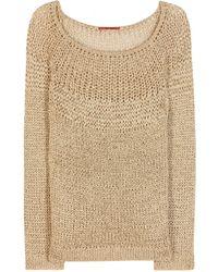 Tamara Mellon Crochet-Knit Sweater - Lyst