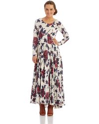 Free People First Kiss Maxi Dress - Lyst