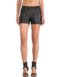 Anine Bing | Leather Shorts | Lyst