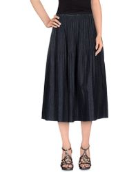 Alysi | Denim Skirt | Lyst
