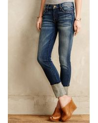 Mother Ponyboy Cuffed Jeans - Lyst