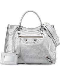 Balenciaga Classic Velo Crossbody Bag - Lyst