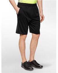 Calvin Klein White Label Performance Reflective Training Shorts black - Lyst