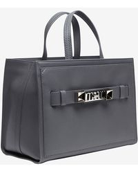 Proenza Schouler Ps11 Small Carrier Box Tote Grey - Lyst