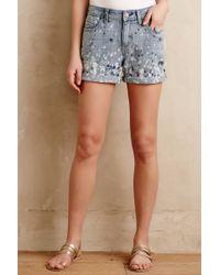 Pilcro - Premium Paint Splatter Shorts - Lyst