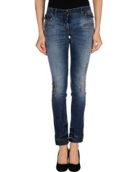 Dolce & Gabbana Denim Trousers - Lyst