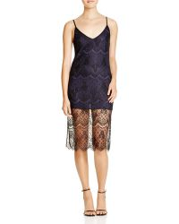 Lush - Lace Cami Dress - Lyst