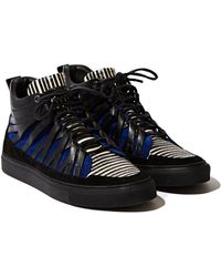 Damir Doma Mens Low Layered Fune Sneakers - Lyst