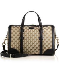 Gucci Gg Classic Top Handle Bag beige - Lyst