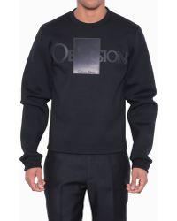 Calvin Klein Faniel Obsession Box Sweatshirt - Lyst