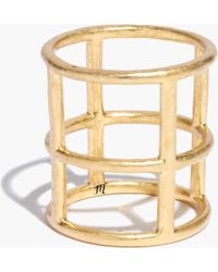 Madewell Armor Cage Ring - Lyst