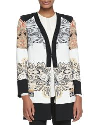 Etro Printed Short Topper Coat - Lyst