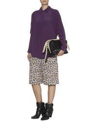 Chloé Leopard Jacquard Culottes - Lyst