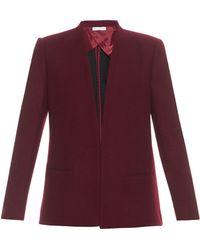 Barbara Casasola - Wrap-Front Wool Jacket - Lyst