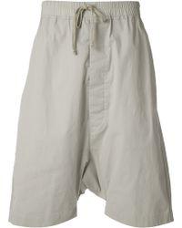 Rick Owens Cargo Shorts - Lyst