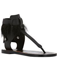Isabel Marant Jadyn Thong Sandals - Lyst