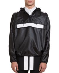 Givenchy Hooded Anorak - Lyst