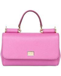 Dolce & Gabbana Jeans Dauphine Leather Shoulder Bag - Lyst