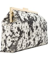 Stella McCartney Daisy Jacquard Clutch - Lyst