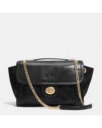 Coach Large Ranger Flap Crossbody in Leather - Lyst