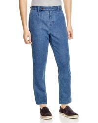 Outerknown - Ditch Cropped Denim Regular Fit Pants - Lyst