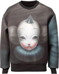 Juun.J - Clown Print Sweatshirt - Lyst