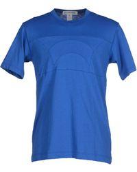 Comme des Garçons | blue T-shirt | Lyst