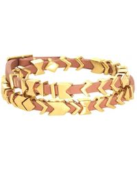 House Of Harlow 1960 Aztec Wrap Bracelet pink - Lyst