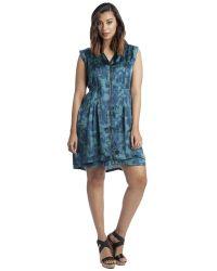 Carmakoma - Mallala Dress In Green Art - Lyst