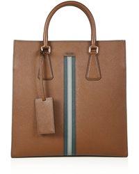 Men\u0026#39;s Prada Bags   Lyst? - Prada briefcase cocoa brown