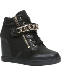 Aldo Eroerwen Wedge Trainer Shoes - Lyst
