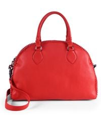 Christian Louboutin Studded Bowling Satchel - Lyst