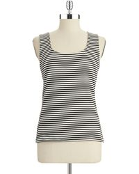 Calvin Klein Striped Tank - Lyst
