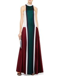 Mary Katrantzou Color-block Wool Gown - Lyst