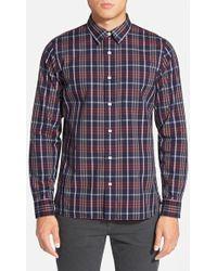 Jack Spade - 'macdowell' Trim Fit Tartan Sport Shirt - Lyst