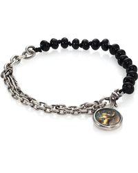 M. Cohen Knotted Gem Link Bracelet - Lyst