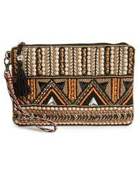 Big Buddha - Beaded Wristlet - Lyst