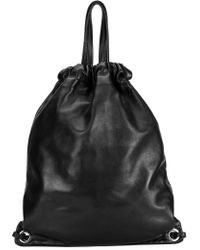 Robert Clergerie - 'Sporty' Drawstring Backpack - Lyst