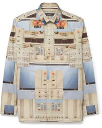 Givenchy Techprint Shirt - Lyst