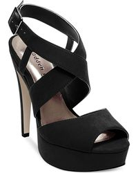 Madden Girl Viennaa Criss Cross Platform Dress Sandals - Lyst