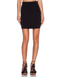 T By Alexander Wang Knit Pencil Skirt - Lyst