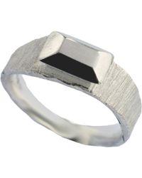 Fraser Hamilton - Carved Gem Ring Silver - Lyst