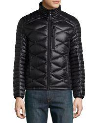 Marc New York - Men's Highline Packable Front-zip Quilted Coat - Lyst