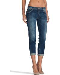 Mother The Dropout Boyfriend Jeans - Lyst