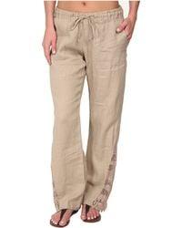 La Blanca - Linen Pants Cover-Up - Lyst